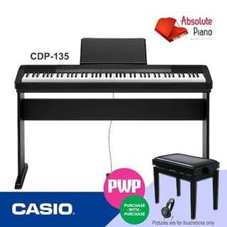 CASIO Digital Piano: CDP-135