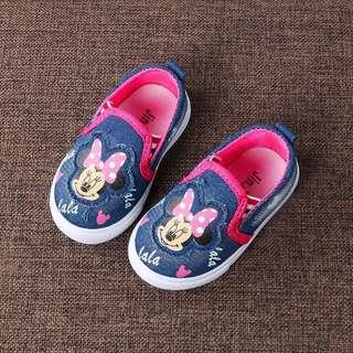 Minnie Shoes (Dark Blue)
