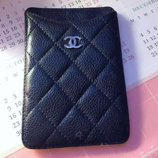 Real Chanel card holder