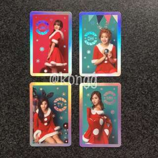 [WTS] OFFICIAL TWICE CHRISTMAS HOLO PHOTOCARD