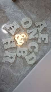 LED Alphabets