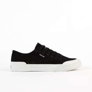 (現貨)Huf classic lo black bone 麂皮板鞋