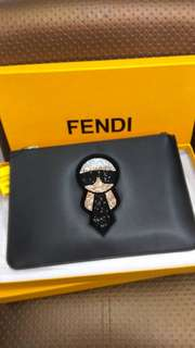 COD/POS FENDI CLUTCH