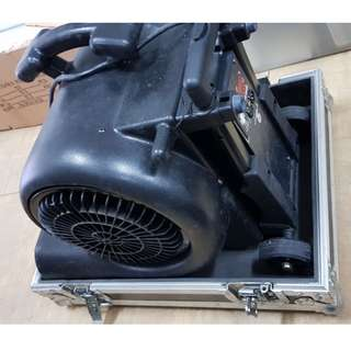 DMX control fan blower for concert stage (well maintained and working condition)