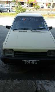 Mazda323 1985 old but good looking car for sales