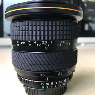 Tokina 20-35 F3.5-F4.5 AF (Nikon Mt)