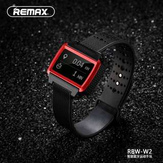 REMAX Bluetooth Smart Watch Fitness Tracker Sleep Monitor (red)