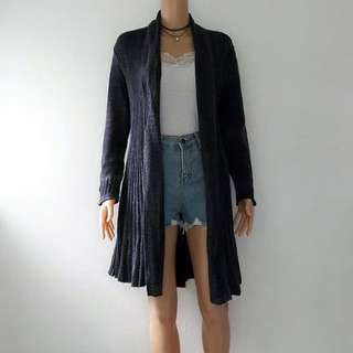Wool Cardigan #3 *with hood*