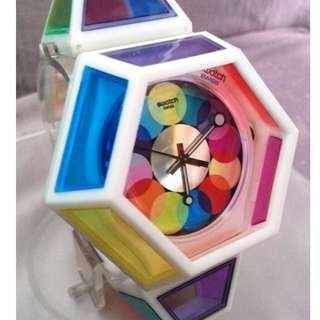 Seen nowhere else! Swatch 2012 limited edition (SUOZ144S)