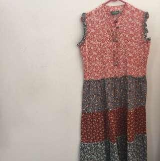 Dress Batik Patern