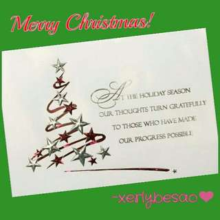 Merry Christmas!❤