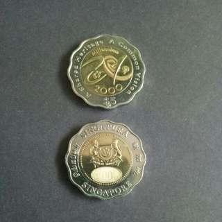 Millennium 2000 Collectible $5 Coin