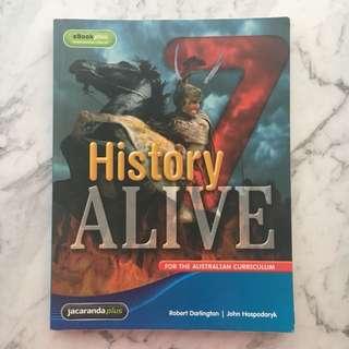 Jacaranda History Alive 7 Textbook
