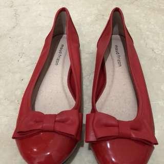 Maud Frizon red flat pumps