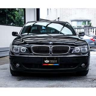2005 BMW 740Li 黑 4.0