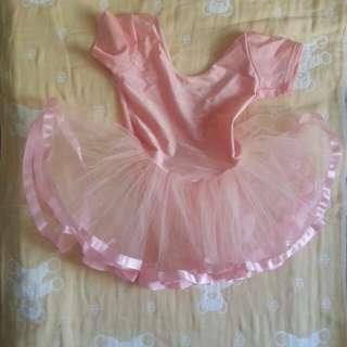 小童芭蕾舞裙 連絲襪褲及布鞋