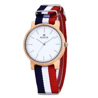 潮人款 楓木尼龍錶帶 DW款 送禮自用必備 高級 氣質 禮物