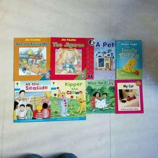 全新兒童英文書8本