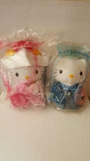 Hello kitty and dear Daniel Japanese wedding pair