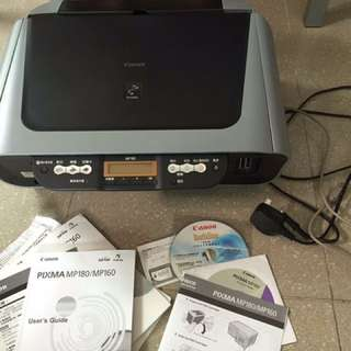 Canon PIXMA MP180/MP160 printer