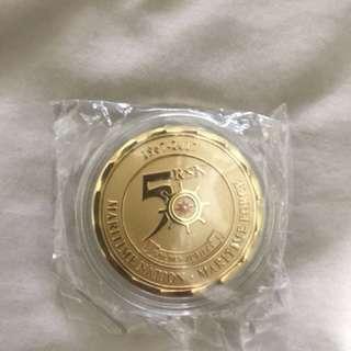 Navy SG 50 Coin
