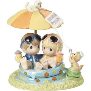 Precious Moments Figurine - Everyday with you is paradise