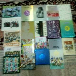 [CLEARANCE SELL] KPOP VARIOUS ALBUM