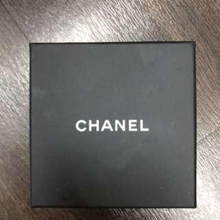 Chanel accessories box髮圈盒仔,100% real,香港專門店購物時使用過一次