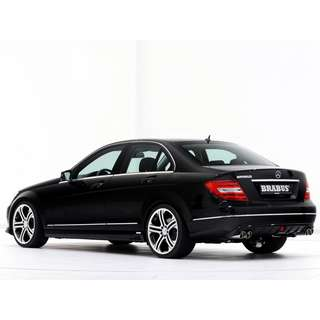 Mercedes Benz C Class W204 Facelift Brabus Bodykit