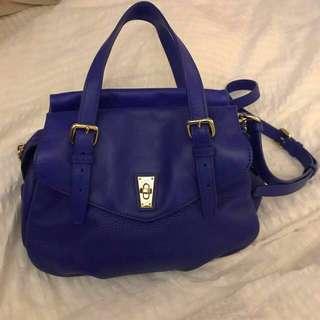 SALE!$1900>$1200!!MARC by MARC JACOBS Blue Leather bag