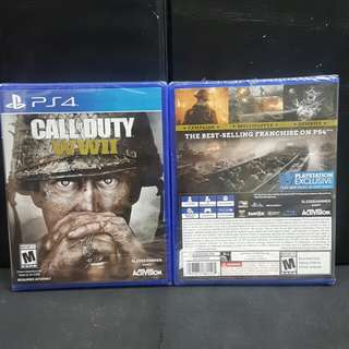 [BN] PS4 Call of Duty WWII (Brand New)