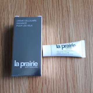 La prairie radiance eye cream (3ml / brand new)
