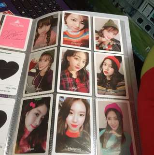 Twice Merry and happy preorder photocard