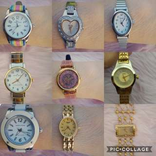 U.S. Authentic Preloved Watches