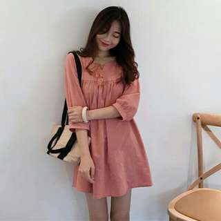 Babydoll Long Sleeve Dress