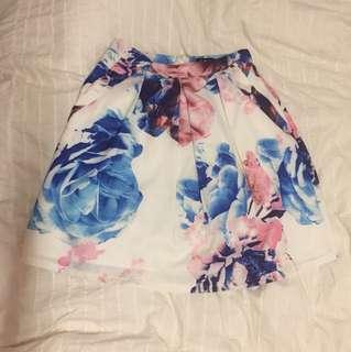 DOTTI floral skirt
