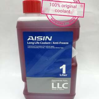 Aisin Coolant Red