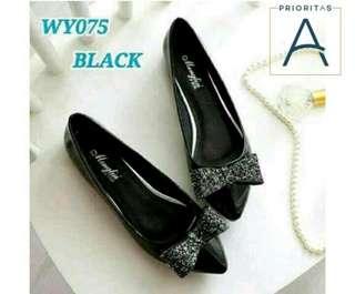 SEPATU WANITA-FLAT SHOES BLACK