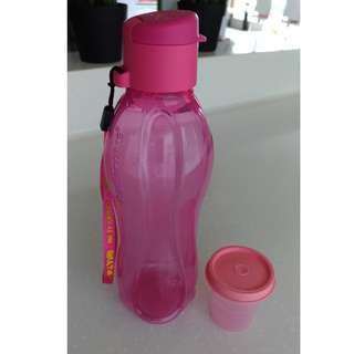 Tupperware 500ml Eco Bottle+60ml Midget