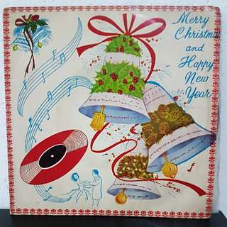 EP》Merry Christmas & Happy New Year Vinyl Record