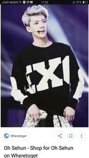 EXO sweater  (sehun)