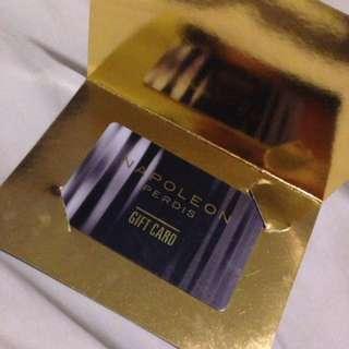 Napoleon perdis gift card