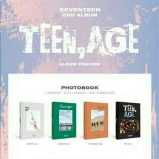 (Preorder) SEVENTEEN -TEEN,AGE