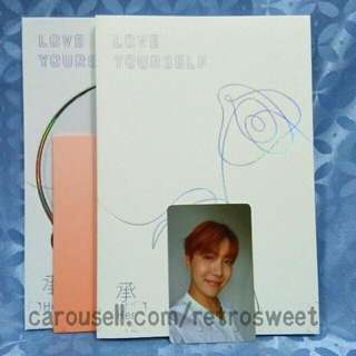 [WTS] MYR65 BTS LY:HER ALBUM + PC (J-Hope)