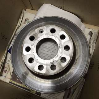 MK5 Golf GT 1.4 rear rotors