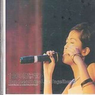 Chen Shan Ni 陳珊妮 Sandee Chan + Shino Live Together 煩 cd