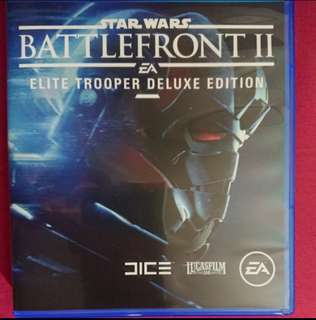 Battlefront II 2 Elite Trooper Edition Codes Unredeemed PS4