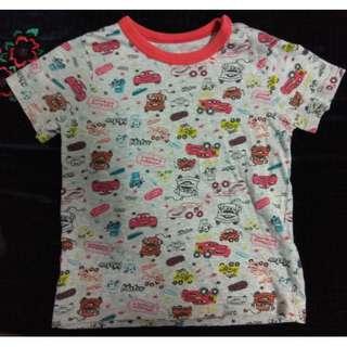 Uniqlo Cars T-shirt (kids)