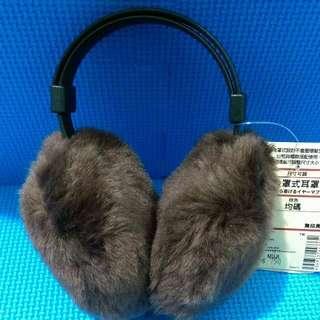 🚚 Muji無印良品。後罩式耳罩。