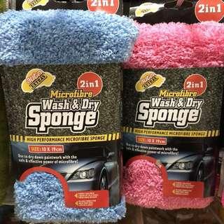 Car Wash n dry sponge